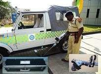 Hand held LCD based CCTV